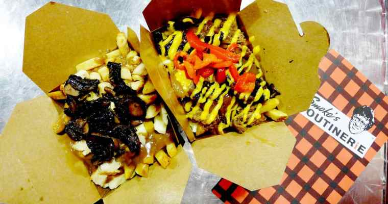 Smoke's Poutinerie Vancouver | Cheese Curds and Fries