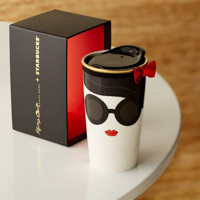 Starbucks Alice Olivia 2015 Doll Face Mug