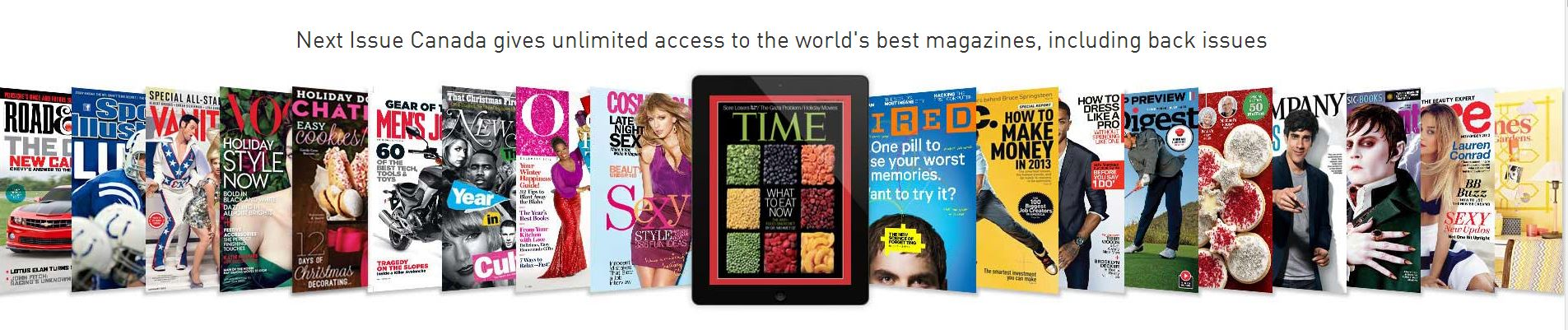 Next Issue Canada Magazine App Iphone Andriod Bring the Magazine Stand Home