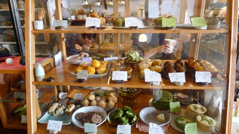 Basho Cafe Vancouver Japanese Sweets Hastings instanomss nomss