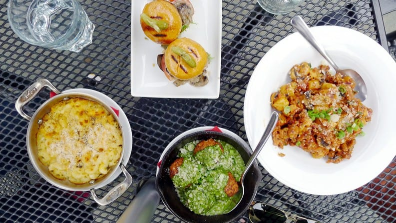 Kitchen on Main Vancouver   Meatballs x Hidden Garden Patio