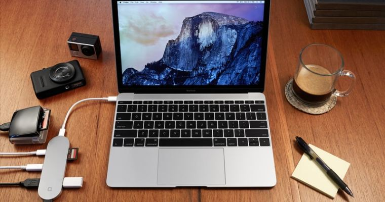 7-Port USB-C Hub with Charging Capabilities for the New MacBook