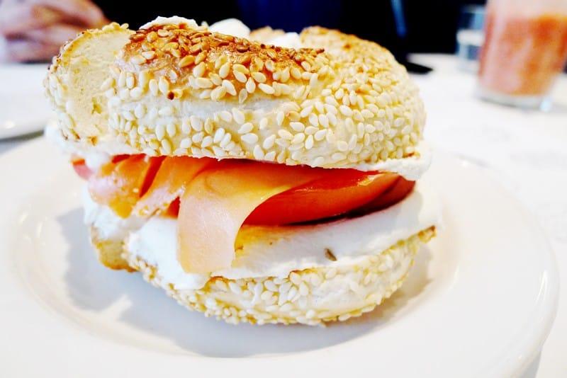 Beautys Luncheonette Montreal   Lox Bagel Breakfast Diner