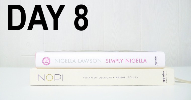 Day 8 – NOPI & Simply Nigella Cookbooks | 12 Days of Christmas Giveaway!