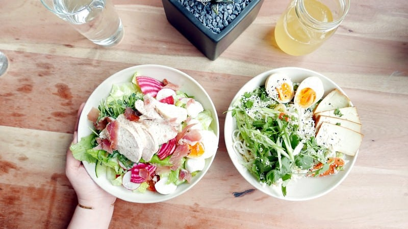 Field and Social Vancouver | Salad Bar Vegan Gluten Free