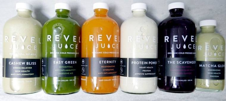 Revel Juice Vancouver | 100% Organic Cold Press Juice Cleanse