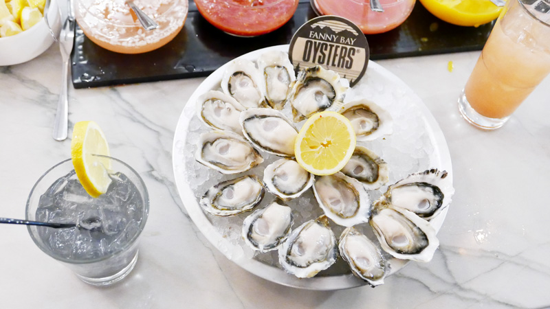 Fanny Bay Oyster Bar Vancouver Seafood Restaurant Shellfish Market Tidetotable Instanomss Nomss Delicious Food Photography Healthy Travel Lifestyle Canada