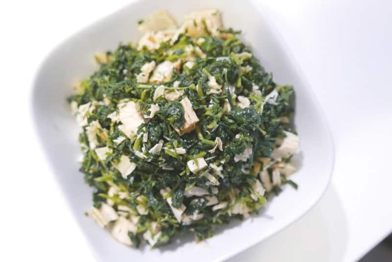 Ma Lan Tou Recipe | Kalimeris Indica Tofu Salad 馬蘭頭