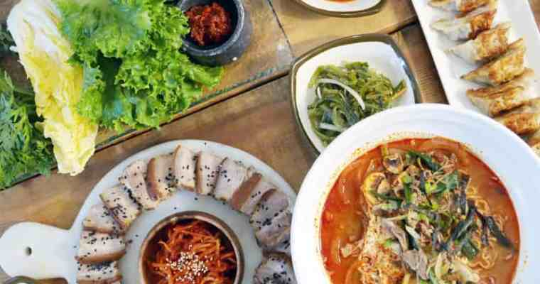 Samsoonie Noodles and Rice Richmond | Korean Restaurant