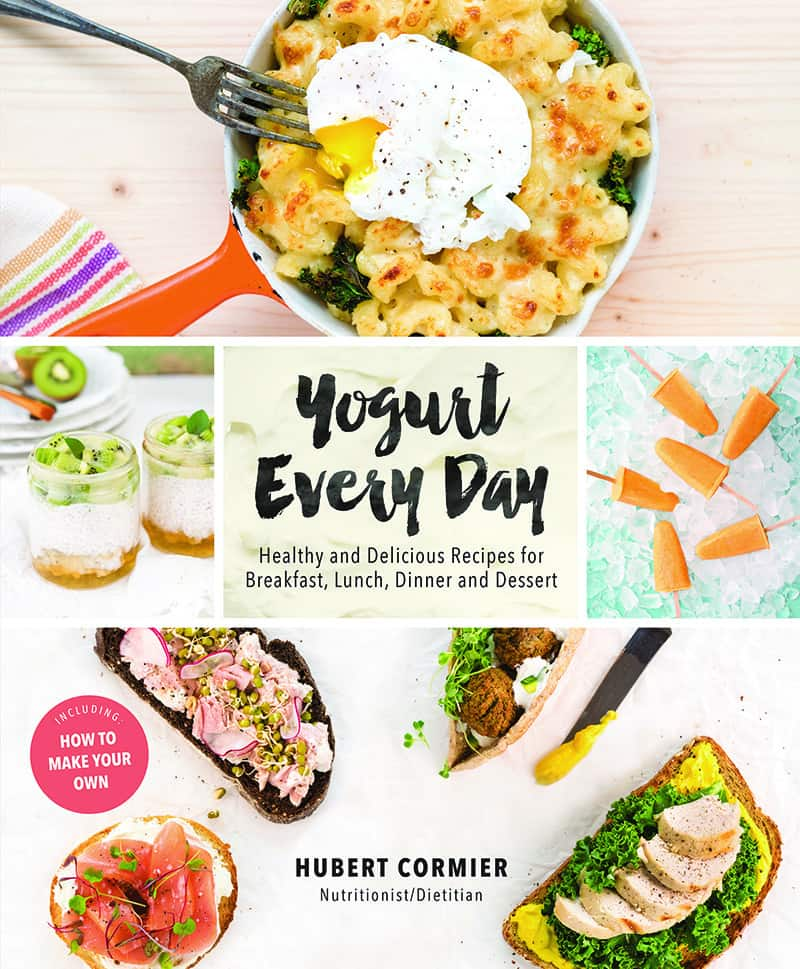 Yogurt EveryDay COOKBOOK REVIEW Hubert Cormier Nomss.com Delicious Food Photography Healthy Travel Lifestyle