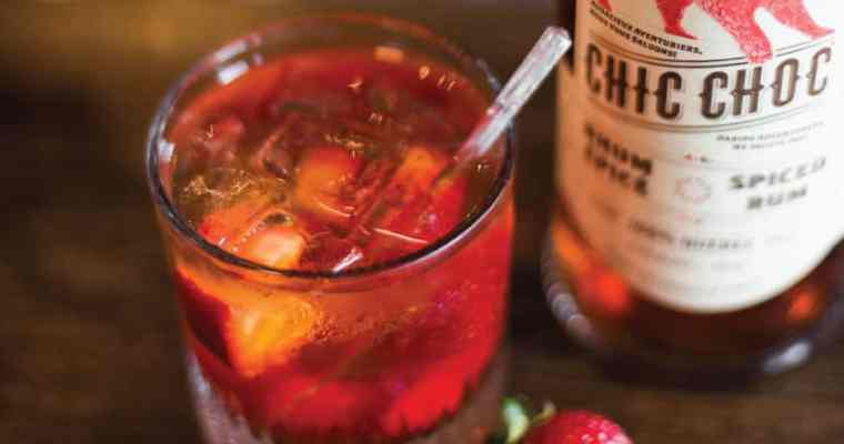 Chic Choc Rum Cocktail Recipe