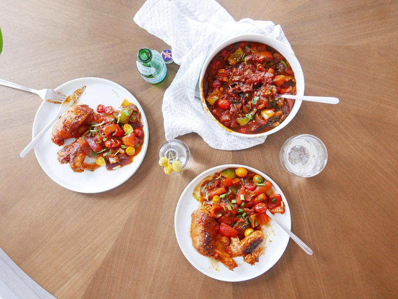 CHICKEN CACCIATORE RECIPE with Fraser Valley Specialty Poultry