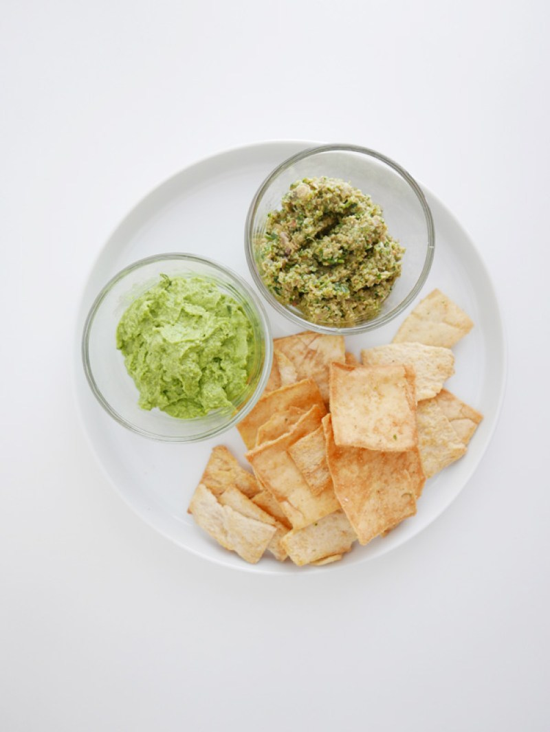 MAYAN PUMPKIN SEED DIP & ENVIOUS ED DIP FROM SPUD.CA NOMSS.COM FOOD BLOG CANADA