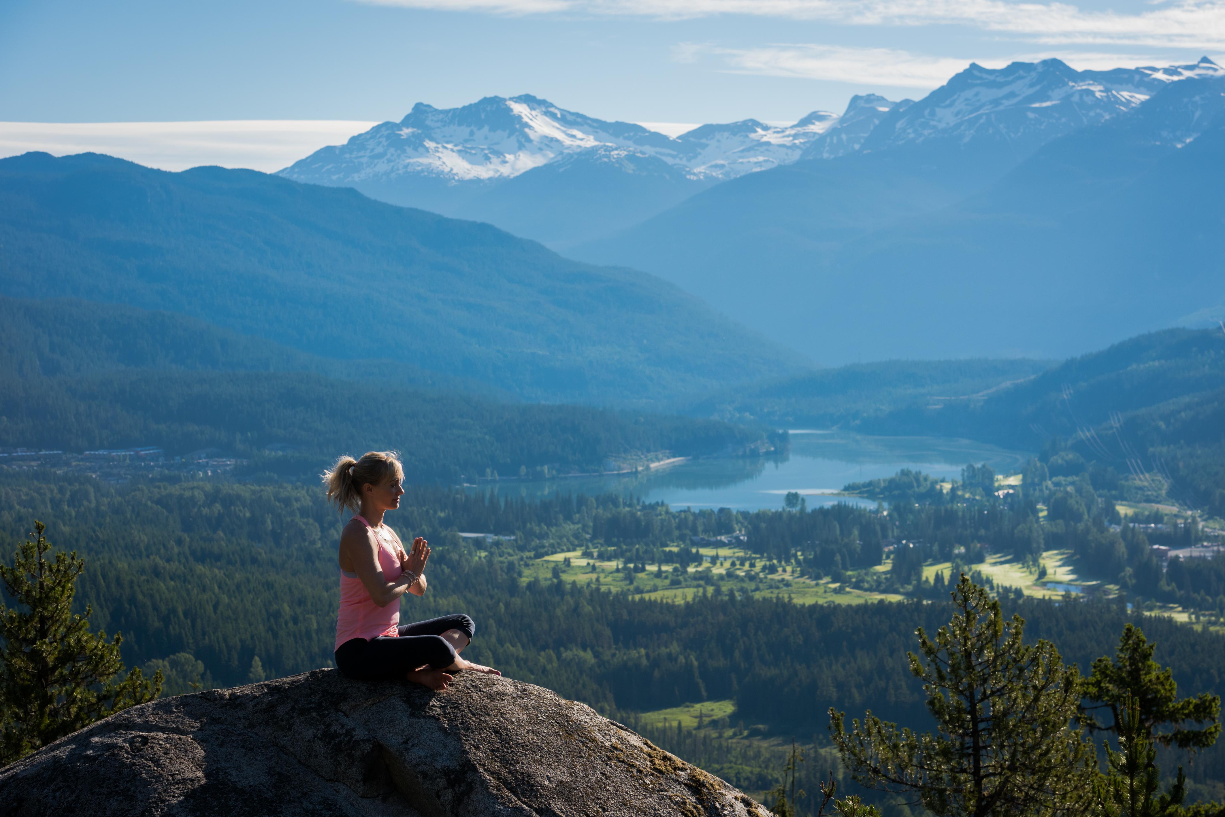 Summer Travel in Whistler