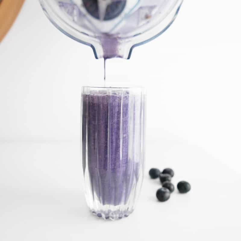 KETO FRIENDLY BLUEBERRY SMOOTHIE RECIPE