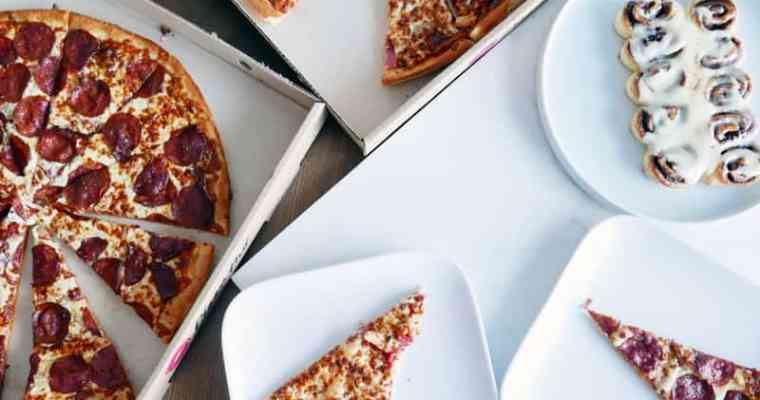Cinnabon cinnamon rolls Launch in BC with Pizza Hut