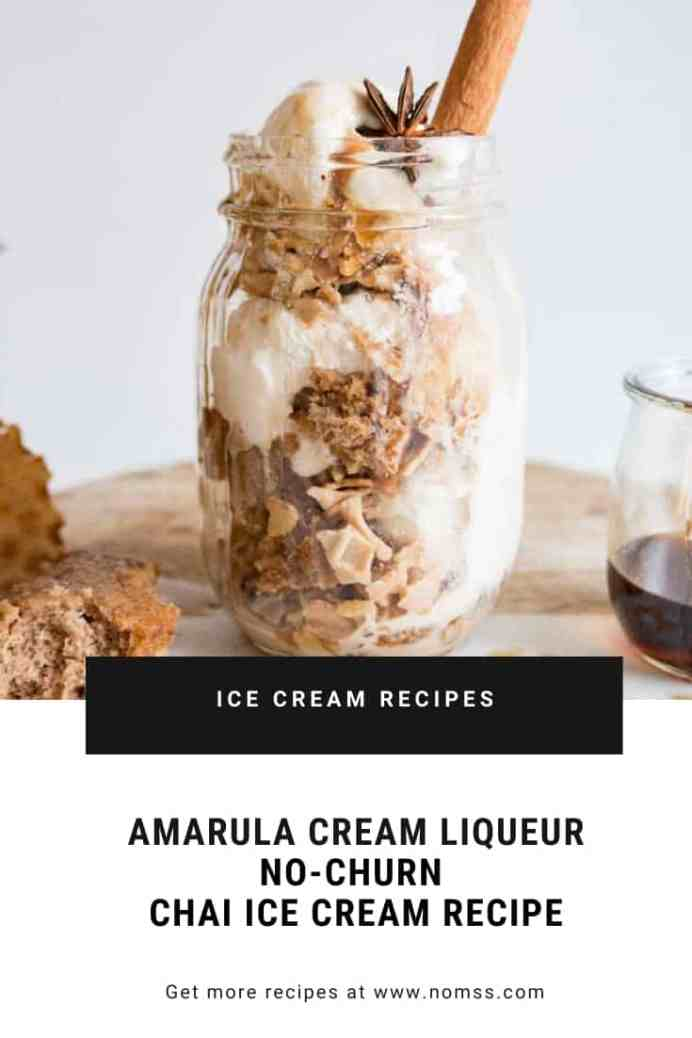 Amarula Cream Liqueur Spiked Chai Spice Ice Cream Parfait is just the dessert you are looking for. Enjoy it any time of day, to end date night at home, girls' sleepover, post-dessert dessert, brunch, etc. It's delicious decadent, sophisticated yet easy to toss together - all with a grown-up kick!  #instanomss #icecreamrecipe #chaispiceicecream #nochurnicecreamrecipe #parfaitrecipe #Simpledessertideas #amarulafoodie #holidaydesserts