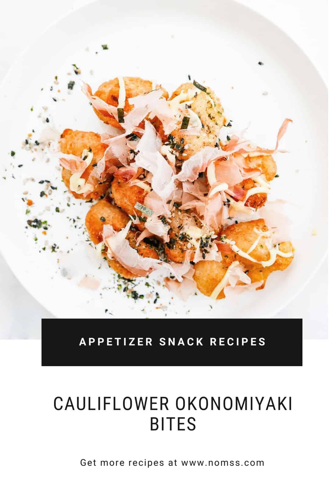 vegan crispy cauliflower bites