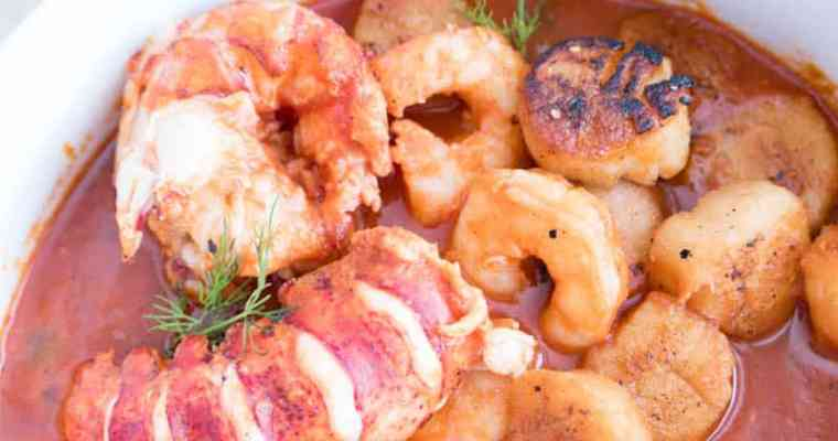 Seafood Cioppino Soup