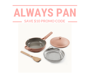 always pan promo code
