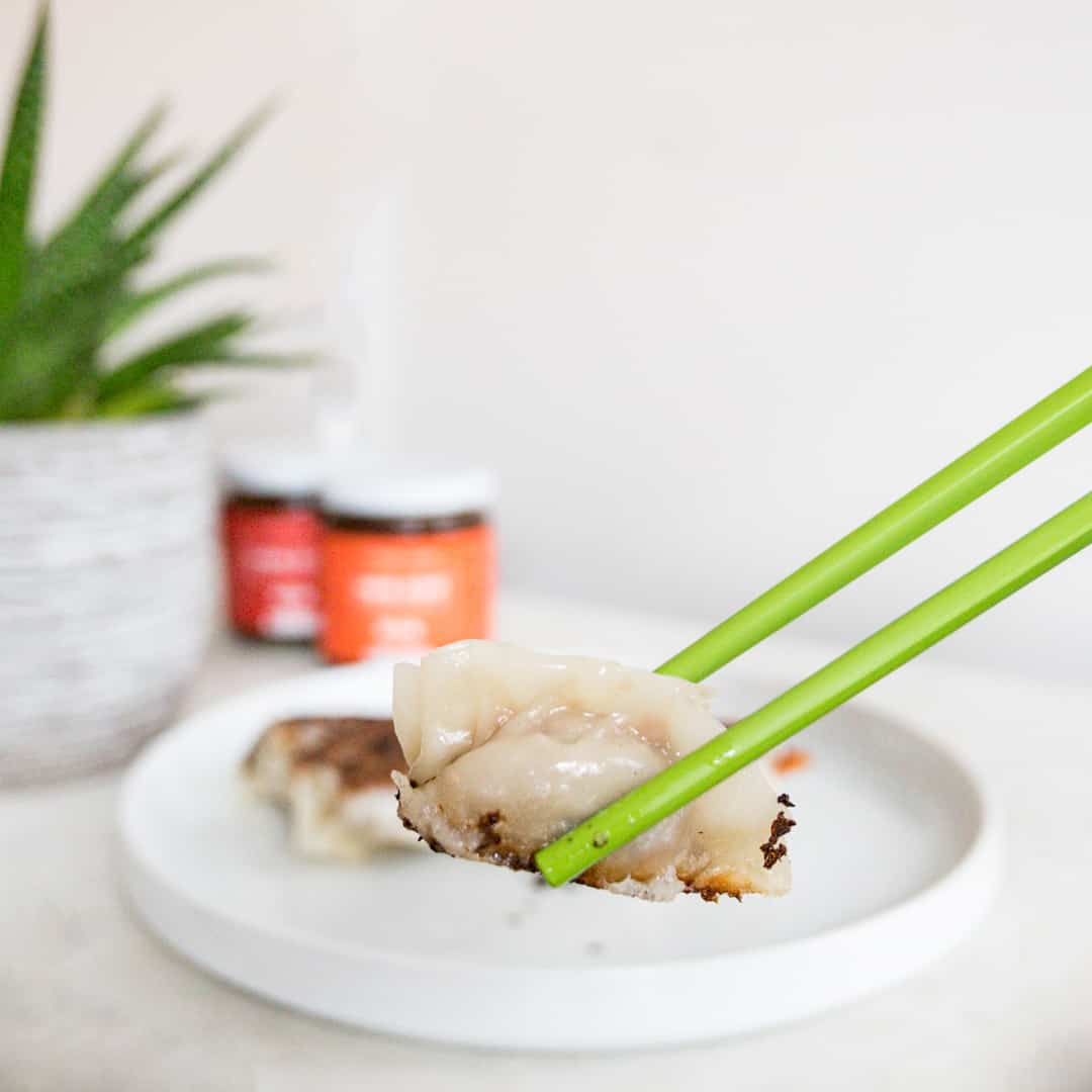 VEGAN PLANT-BASED DUMPLINGS