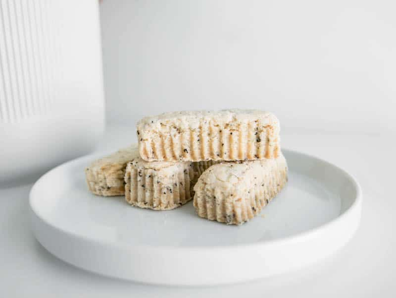 VEGAN PLANT-BASED EARL GREY SHORTBREAD COOKIES