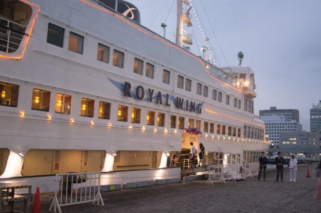 boarding boat