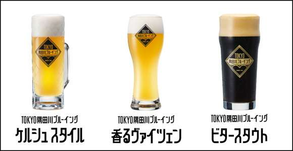 Tokyo Sumidagawa Brewing to launch 3 new beers
