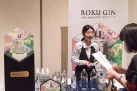 Suntory's Roku Gin booth