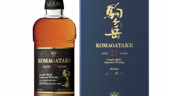 Lottery now open for Mars Single Malt Komagatake Aged 27 Years