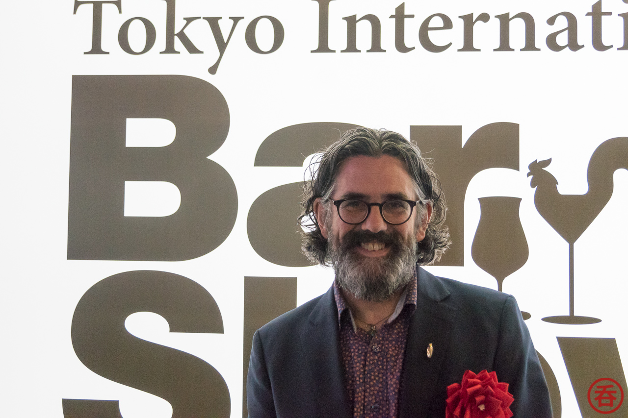 Interview with Dave Broom at Tokyo International BarShow 2018