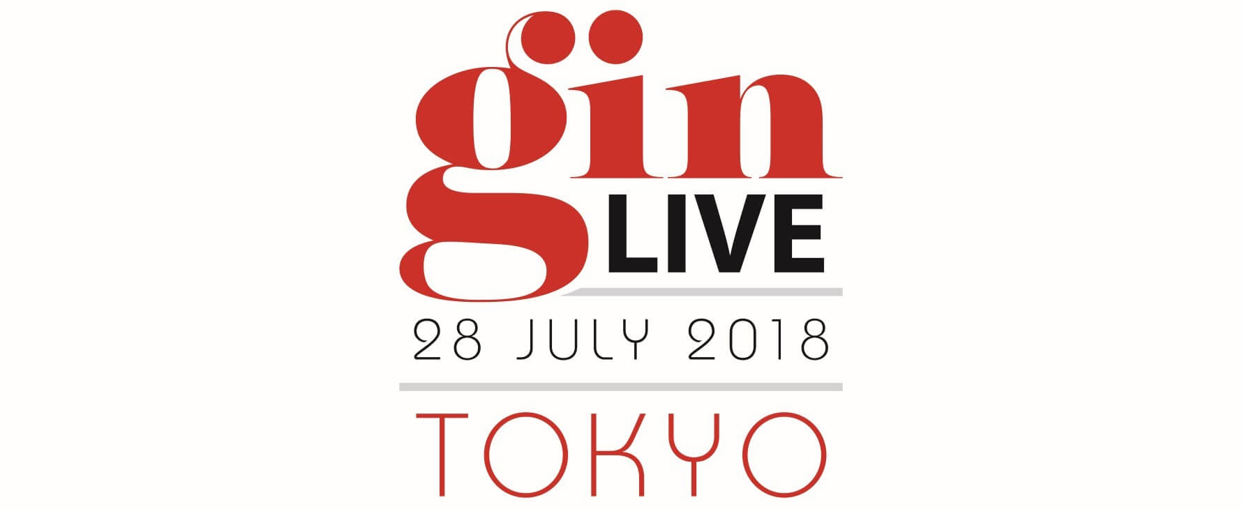 Gin Live Tokyo 2018 is being held on July 28
