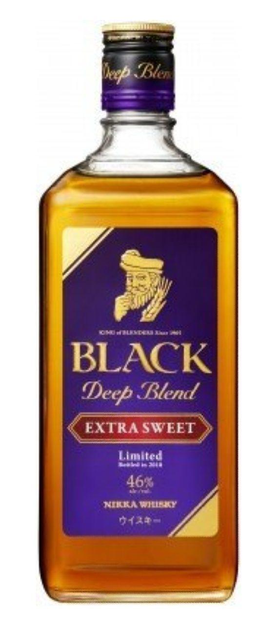 Nikka Black Deep Blend Extra Sweet in September