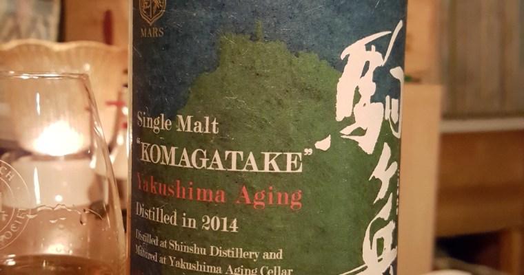 Review: Mars Komagatake, Yakushima Aging Cellar, d.2014, 1,140 bottles, 59% abv.