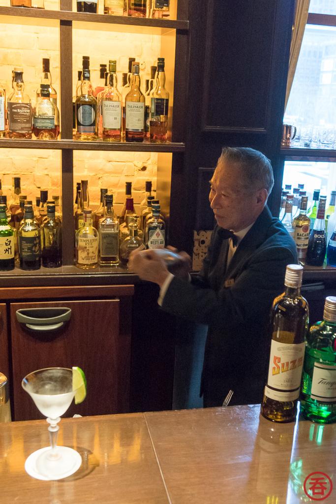 Hisashi Sugimoto, Bar Oak, and The Tokyo Station Hotel