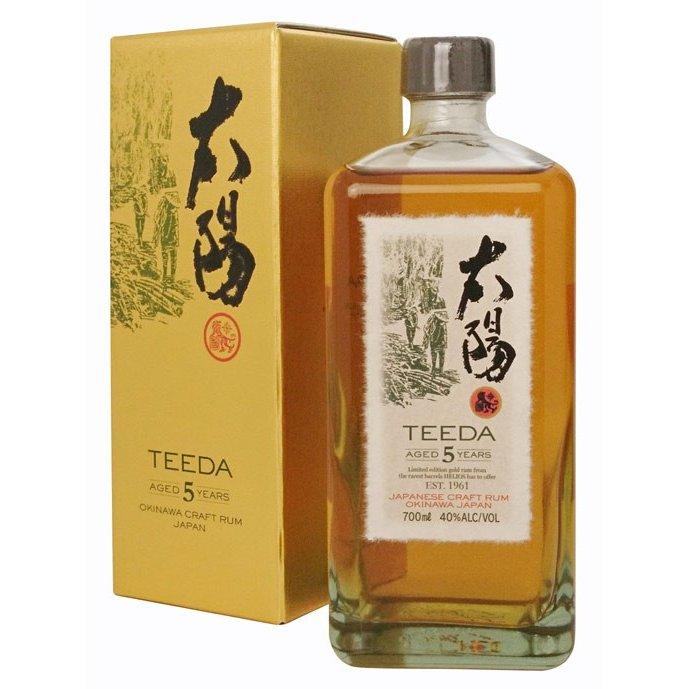 Japanese Craft Rum: Teeda Aged 5 Years