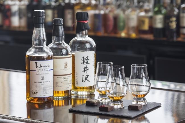 The Ritz-Carlton Tokyo Premium Japanese Whisky Flight