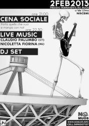 Cena sociale e Concerto NO MUOS - Presidio Permanente c.da Ulmo
