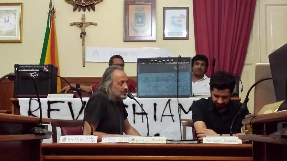 Report 30 luglio comune occupato Niscemi