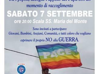 I NO MUOS di Caltagirone aderiscono all'appello per la PACE e per la SOLIDARIETA' tra i popoli