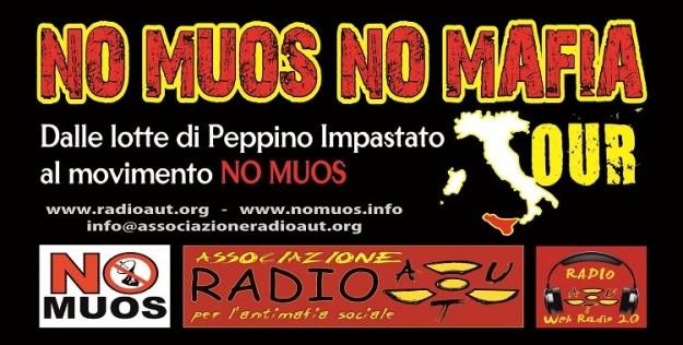 NO MUOS NO MAFIA TOUR - LE DATE DI GENNAIO 2014