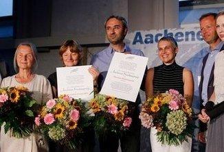 Premio Aachen per la Pace ai No MUOS