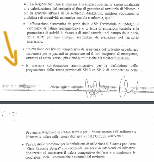 Niscemi isolata: le due strade interrotte facevano parte del Protocollo Muos