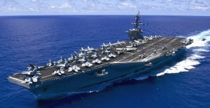 USA aircraft carrier
