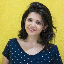 Júlia Manzano, repórter