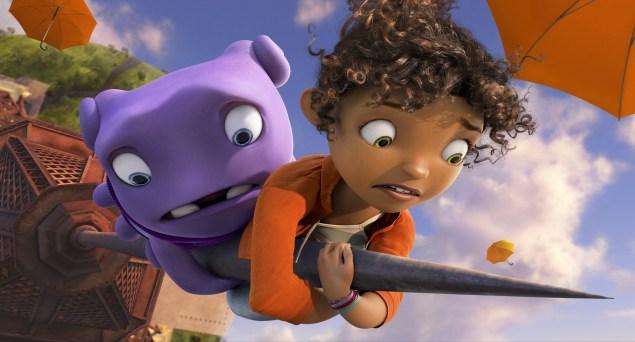 Roteiro no piloto automático e personagens desinteressantes fazem desta uma das animações mais medíocres da Dreamworks. (Crédito: 20th Century Fox/divulgação)