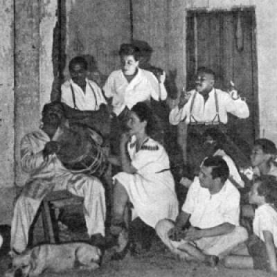Lupi começou a cantas suas histórias na Ilhota e as cantou por todo país (Foto: Marcello Campos/arquivo pessoal)