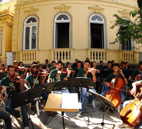 Orquestra Villa-Lobos em Porto Alegre (Crédito: ???)