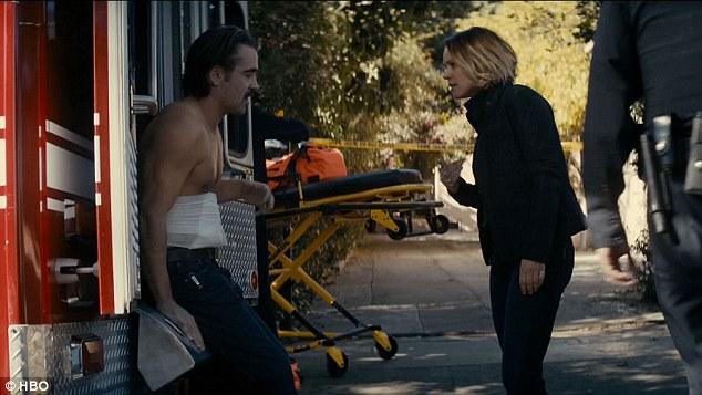 Velcoro e Bezzerides em ação na segunda temporada de True Detective