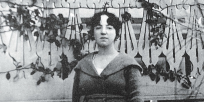 Albertina Bertha (Foto: arquivo Anna Faedrich)